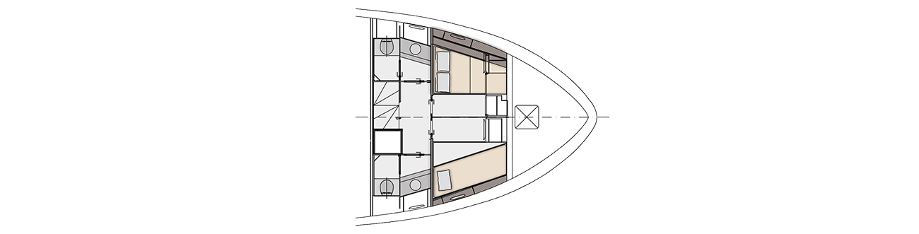 Crew cabin - opt layout
